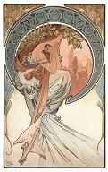 Karte A. Mucha - Poetry